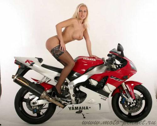 голые девушки и мото фото